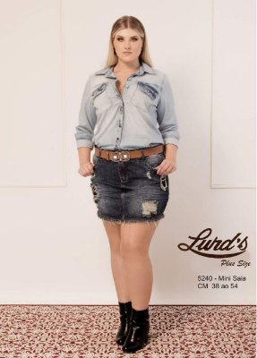 MINI SAIA PLUS SIZE JEANS REF 5240