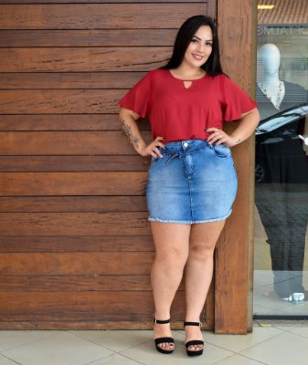 MINI SAIA PLUS SIZE JEANS REF 7060