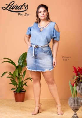 MINI SAIA PLUS SIZE JEANS REF 8067