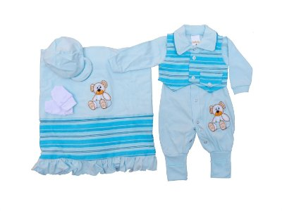 Saída Maternidade - Mary Baby 35eec213707