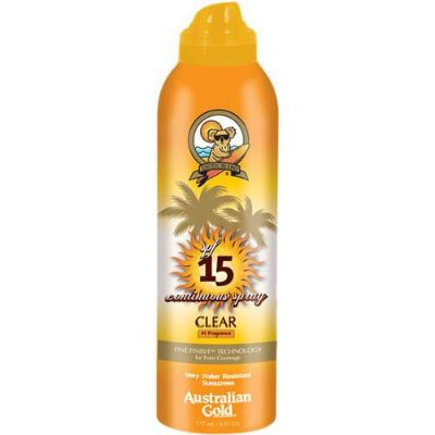 Protetor Solar Australian Gold SPF 15 Continuous Spray - 177ml