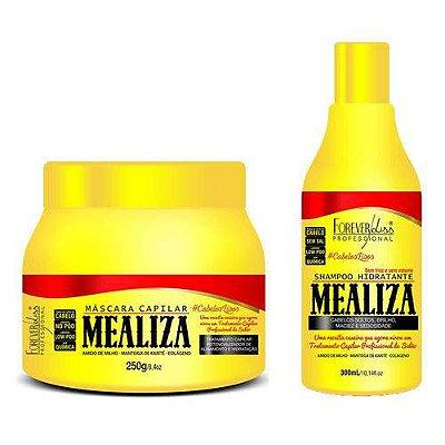 Kit Mealiza 2 produtos (shampoo 300 e mascara 250)