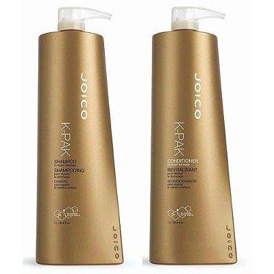 Joico Kit Shampoo + Condicionador K-Pak Repair 1 L