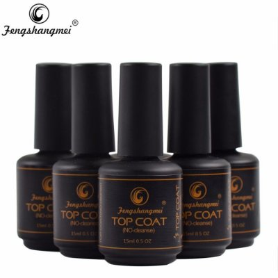 Top Coat Fengshangmei - Pretinho do Poder