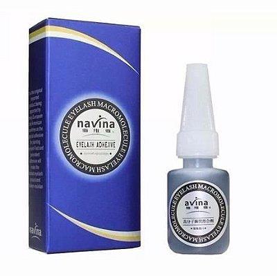 Cola Navina para Alongamento de Cílios Azul