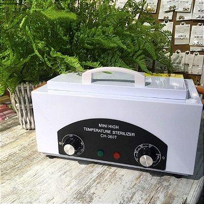 Esterilizador autoclave para alicates de unha
