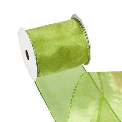 Fita organza verde A107970