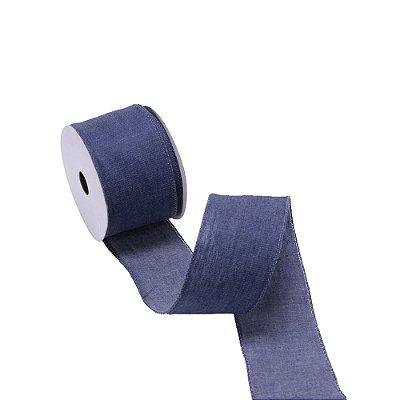 Fita aramada azul jeans A109832