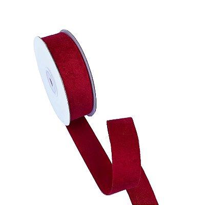 Fita veludo vermelha A100715