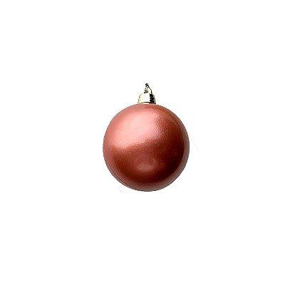 Bola rosê gold 6cm c/6un - G150006