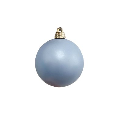 Bola azul joly 8cm c/4un - G150917