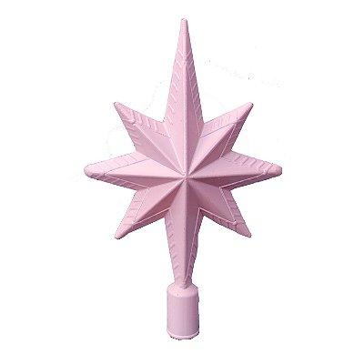 Ponteira Rosa Pastel 22cm - G150981