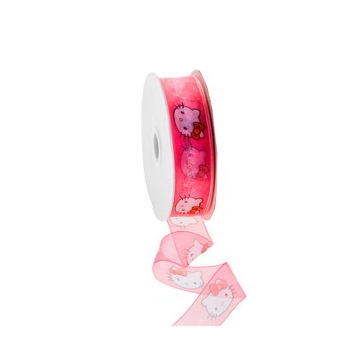 Fita organza estampa hello kitty A204452