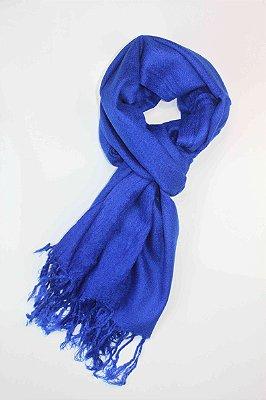Echarpe Azul Cobalto