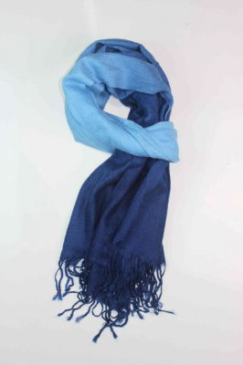 Echarpe Tons de Azul