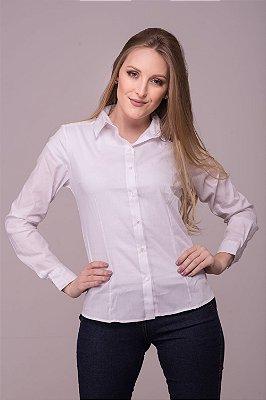 PRÉ-VENDA: Camisa Feminina Branca Confort