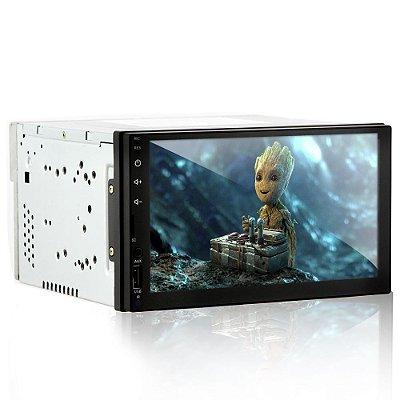 """Mp5 Automotivo Full Touch 6.95"""" com Espelhamento Android Com Receptor de TV DIGITAL"""
