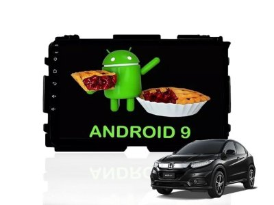 Central Multimidia HRV Androd 9.0 Wi-Fi Waze Google Maps Youtube Bluetooth