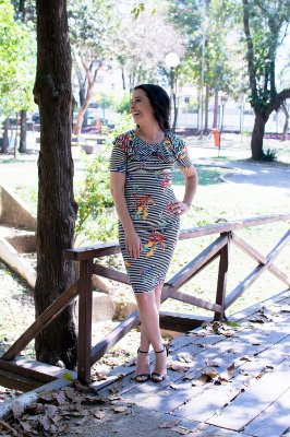 Vestido Emily - Moda Executiva Evangélica