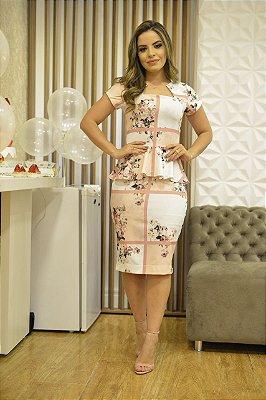 Vestido Solange - Moda Evangélica Executiva