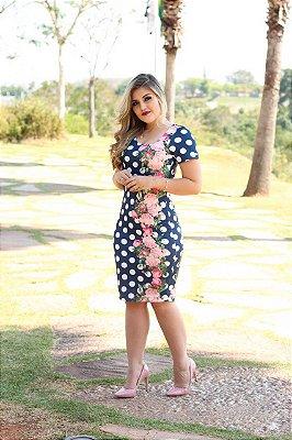 Vestido Larissa - Moda Evangélica Executiva