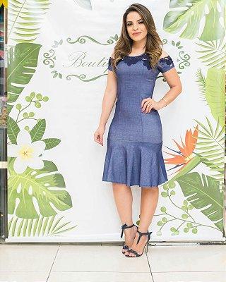 Vestido Marília - Moda Evangélica Executiva