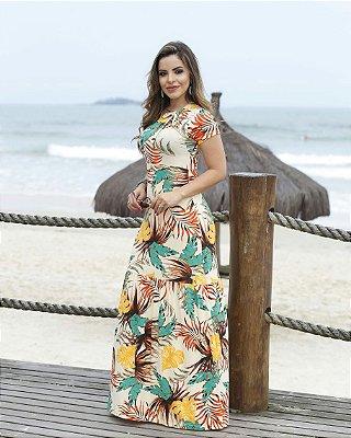 Vestido Luiza - Moda Evangélica Executiva