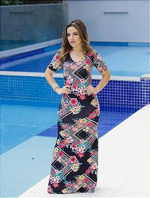 Vestido Carmem - Moda Evangélica Executiva
