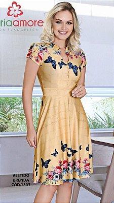 Vestido Brenda - Moda Evangélica Executiva