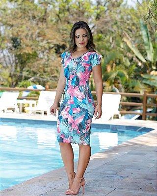 Vestido Latica - Moda Evangélica Executiva