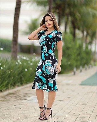 Vestido Jasmine - Moda Evangélica Executiva
