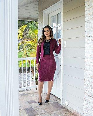 Conjunto Madeleine - Tamanho G - Moda Evangélica Executiva