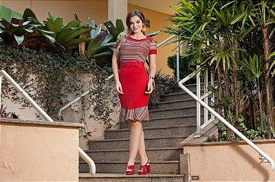 Vestido Laura - Moda Evangélica Executiva