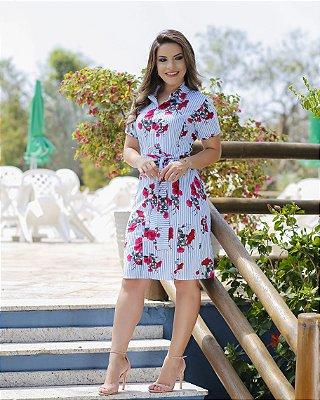 Vestido Berta - Moda Evangélica Executiva