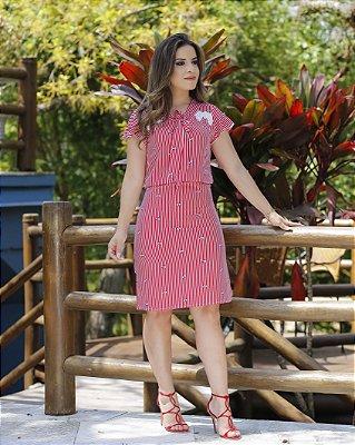 Vestido Belisa - Moda Evangélica Executiva