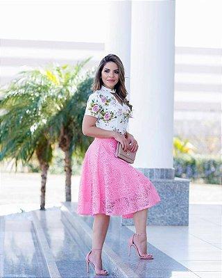 Saia Laiane - Tamanho 42 - Moda Evangélica Executiva