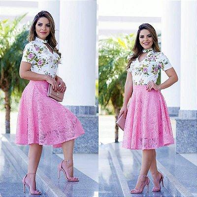 Blusa Lorraine - Tamanho 40 - Moda Evangélica executiva