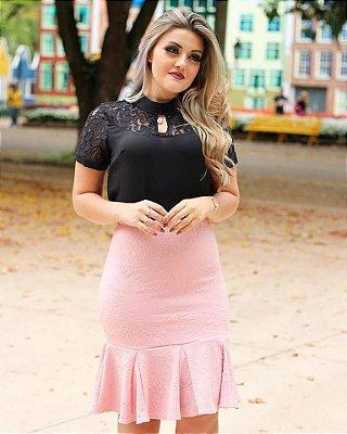 Blusa Lilica - Moda Evangélica Executiva