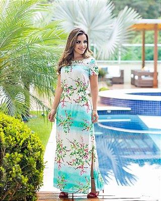 Vestido Amanda - Moda Evangélica Executiva