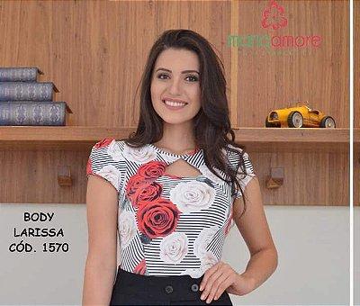 Body Larissa I - Tamanho Unico - Moda Evangélica Executiva