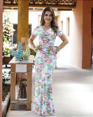 Vestido Fabíola - Moda Evangélica Executiva