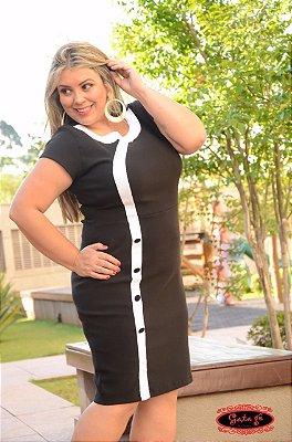 Vestido Cristal -  Moda Evangélica Executiva  - Plus Size