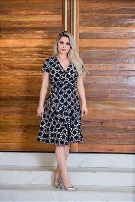Vestido Janete - Moda Evangélica Executiva