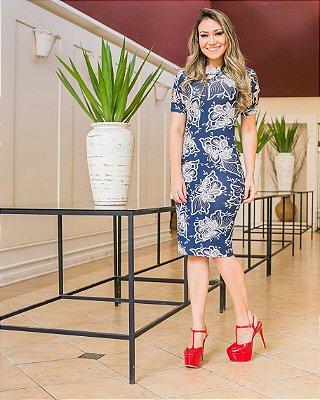 Vestido Erica - Moda Evangélica Executiva
