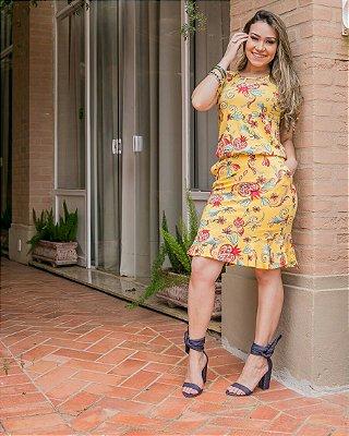 Vestido Jacira - Moda Evangélica Executiva