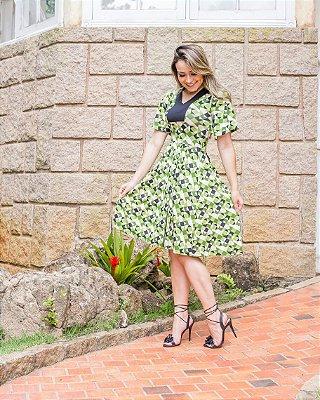 Vestido Elisangela - Moda Evangélica Executiva