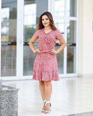 Vestido Keila Rose - Moda Evangélica Executiva