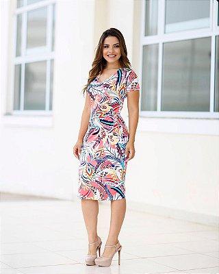 Vestido Monaliza - Moda Evangélica Executiva