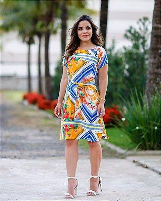 Vestido Yasmim - Moda Evangélica Executiva