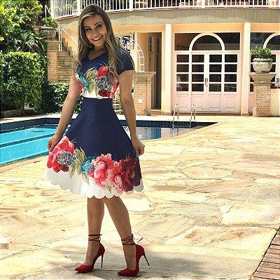 Vestido Ana Paula - Moda Evangélica Executiva